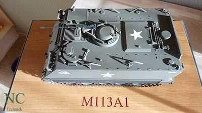 Werkstuk CNC Hans de Jong M113-27